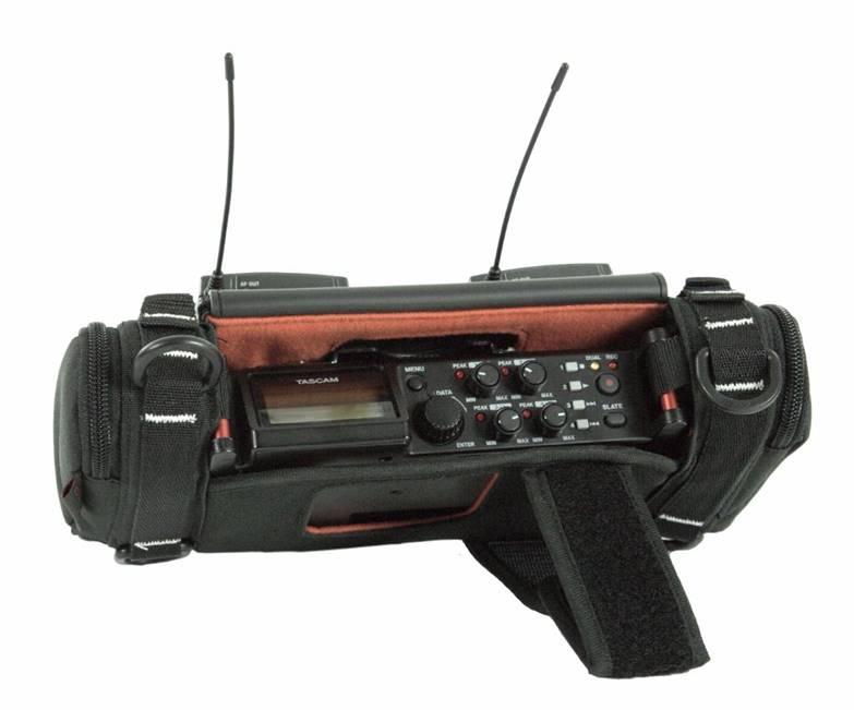 New K-Tek Stingray Audio Bag for Tascam DR-70D