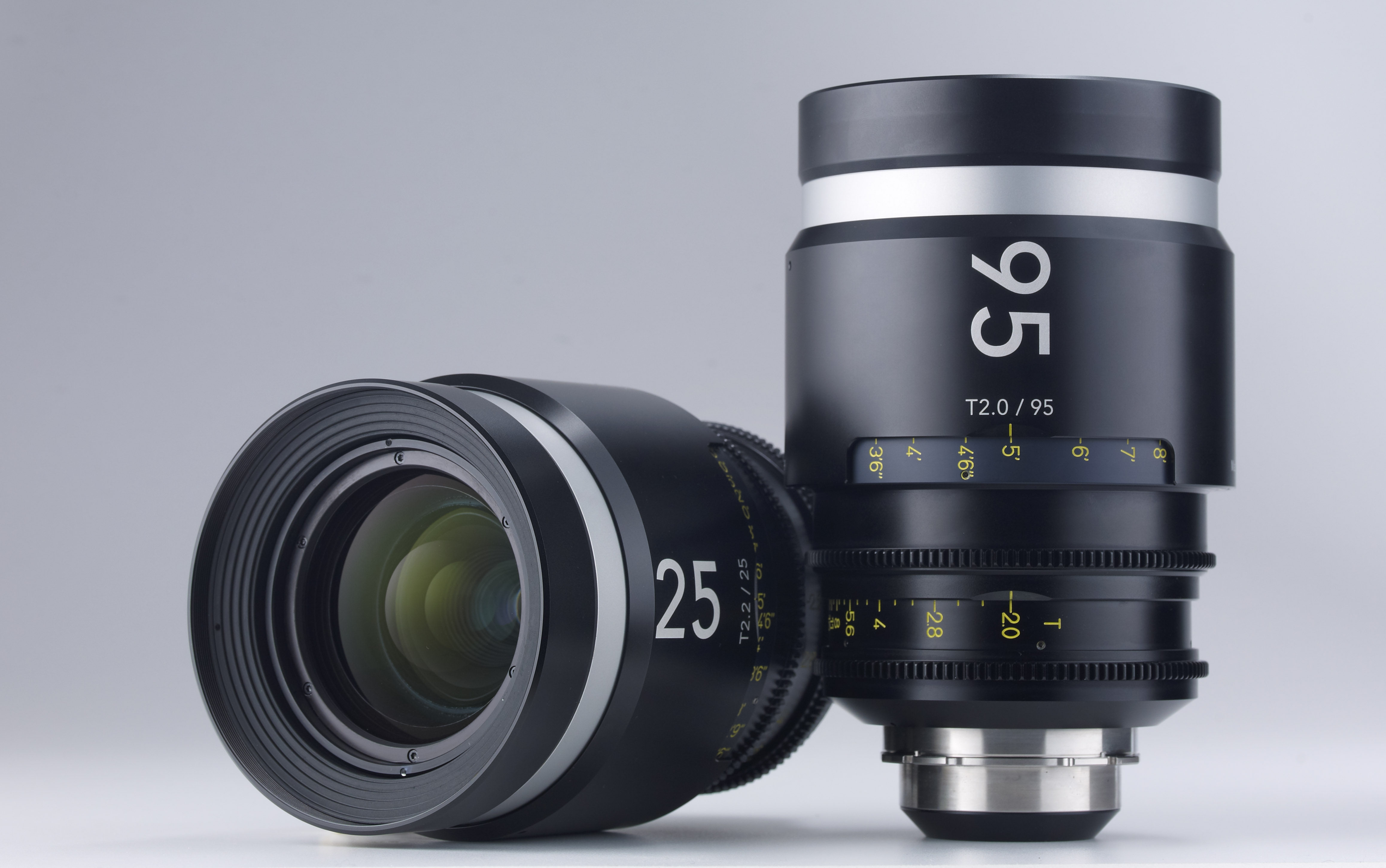 Schneider Cine Xenar III Primes 25mm and 95mm Lenses