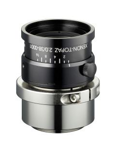 """High-resolution Schneider-Kreuznach Xenon-Topaz Lenses for 1.1"""" Sensors"""