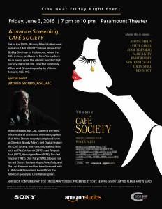 Cafe Society Screening FR3