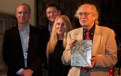 Storaro receives Cine Gear's Cinematography Lifetime Achievement Award. (right: Richard Crudo, ASC, Karl Kresser and Juliane Grosso of Cine Gear Expo, Vittorio Storaro, ASC, AIC