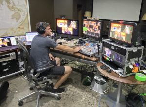 Home Broadcast from Brisbane, Amid Covid-19 Uses Core and VidiU Go