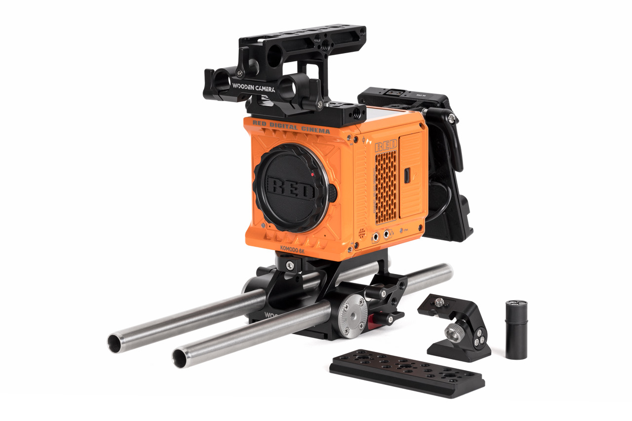 Wooden Camera Accessory Kit Pro (Gold-Mount) for RED KOMODO