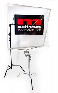 "Matthews 40""x40"" Matthsheld Floppy offers a clear protection from both sides"